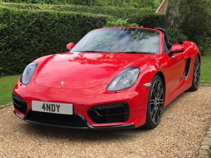 4 NDY Number Plate Reg