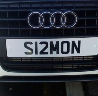 Simon Number Plate Reg