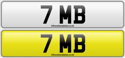 7 MB Reg Plate