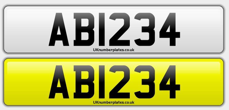 Types of UK registrations | UK Number Plates
