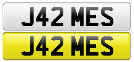 James Number Plate Auction