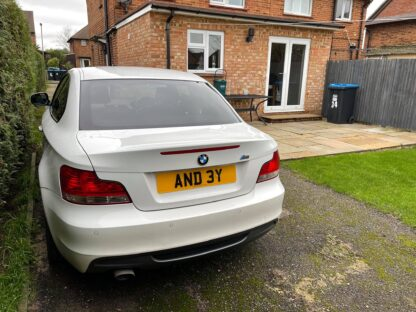 Andy Number Plate